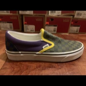 Vans Classic Slip-on Purple Women's Size 9.5